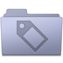 Tag Folder Lavender icon