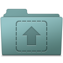 Upload Folder Willow icon