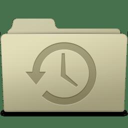 Backup Folder Ash icon