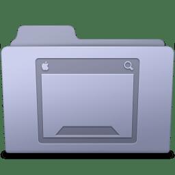 Desktop Folder Lavender icon