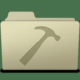 Developer Folder Ash icon