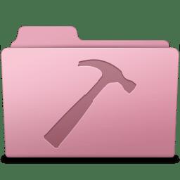 Developer Folder Sakura icon