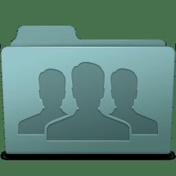 Group Folder Willow icon