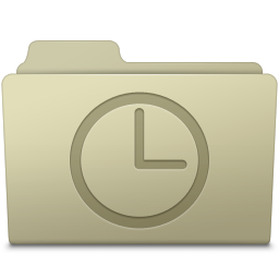 History Folder Ash icon