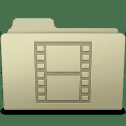 Movie Folder Ash icon
