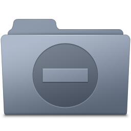 Private Folder Graphite icon