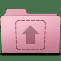Upload Folder Sakura icon