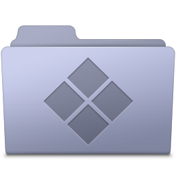Windows Folder Lavender icon