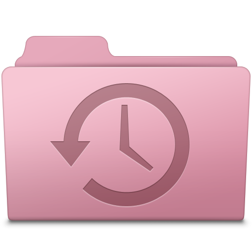 Backup Folder Sakura icon