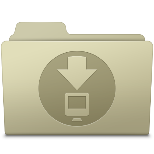 Downloads Folder Ash icon