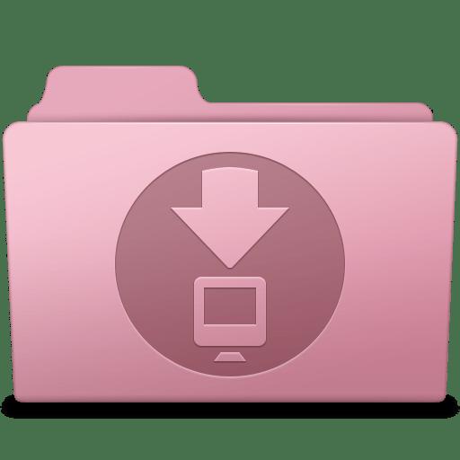 Downloads Folder Sakura icon
