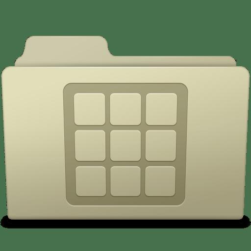 Icons-Folder-Ash icon