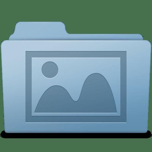 Photo-Folder-Blue icon