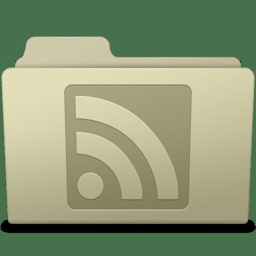 RSS Folder Ash icon