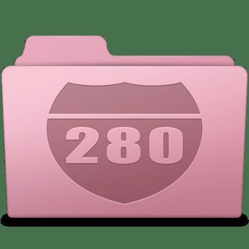 Route Folder Sakura icon