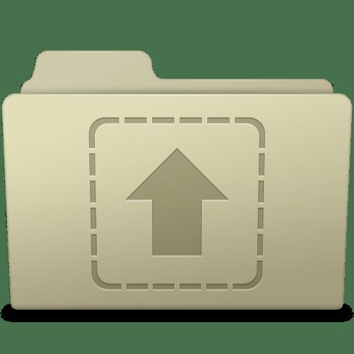 Upload Folder Ash icon