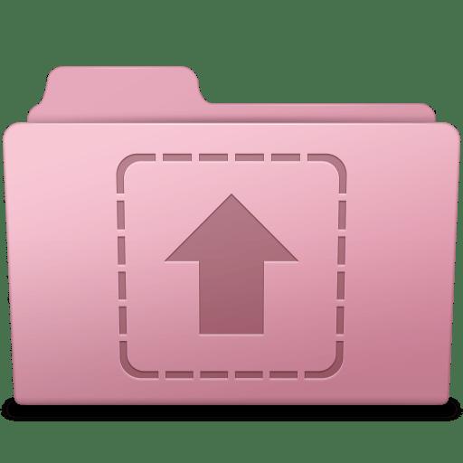 Upload-Folder-Sakura icon