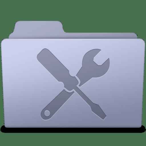 Utilities-Folder-Lavender icon