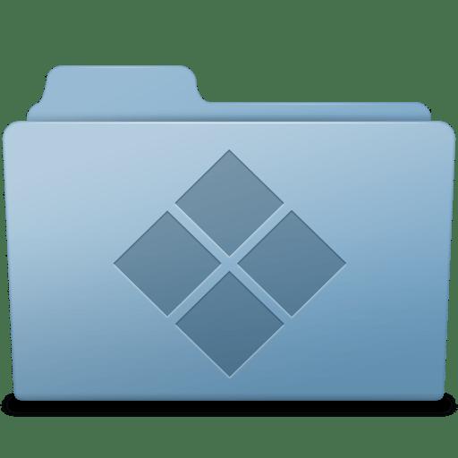 Windows Folder Blue icon