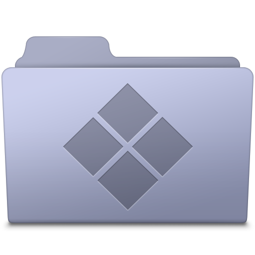 Windows-Folder-Lavender icon
