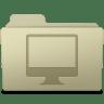 Computer-Folder-Ash icon