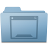 Desktop-Folder-Blue icon