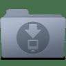 Downloads-Folder-Graphite icon