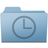 History-Folder-Blue icon