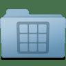 Icons-Folder-Blue icon