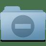 Private-Folder-Blue icon