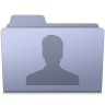Users-Folder-Lavender icon