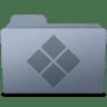 Windows-Folder-Graphite icon