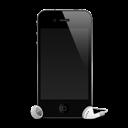 IPhone-4G-headphones-shadow icon