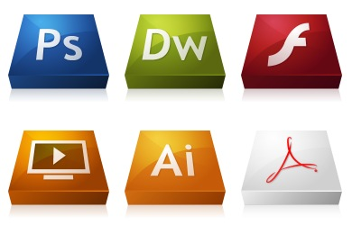Adobe CS3 3DCons Icons