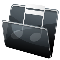HP Music Folder icon