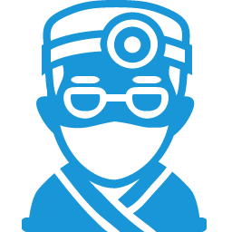 Doctor blue icon
