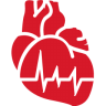 Cardiology-red icon