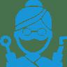 Dentist-blue icon