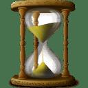 Hourglass Sandclock icon