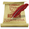 Scroll-Feather icon