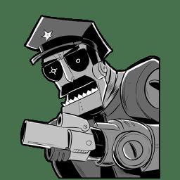 Robot Axe Cop icon