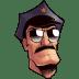 Axe-Cop-Head icon