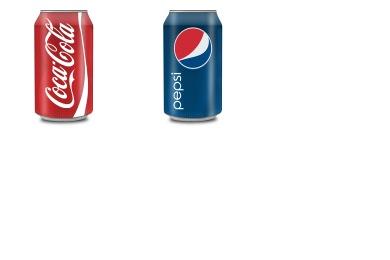 Coke & Pepsi Can Icons