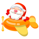 Santa plane 2 icon