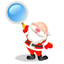 Santa search icon