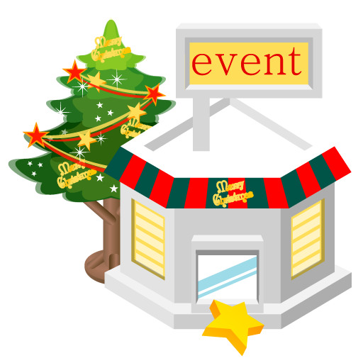 Christmas event store icon