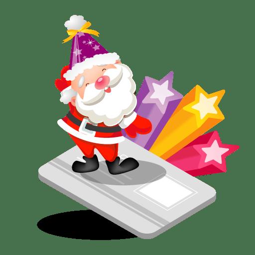 Santa-creditcard icon