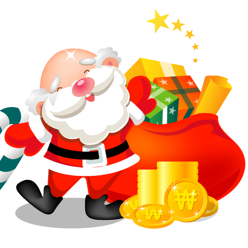 Santa-gifts-bag icon