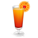 Cocktail Tequila Sunrise icon