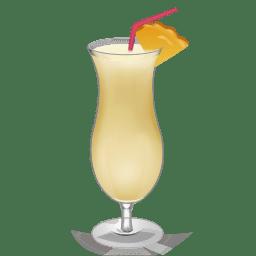 Cocktail Pina Colada icon